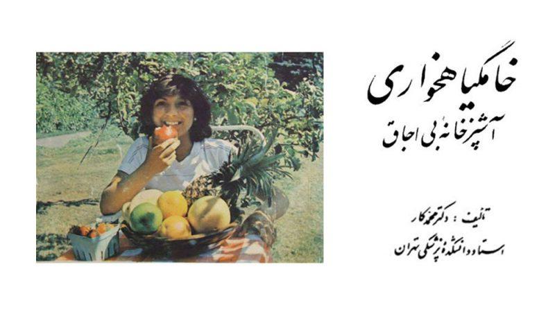 خامگیاهخواری آشپزخانهی بی اجاق - دکتر محمد کار